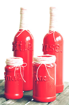 Upcycle bottle DIY