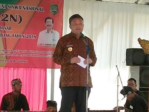 Pembukaan FLS2N SD 2018 Kabupaten Subang