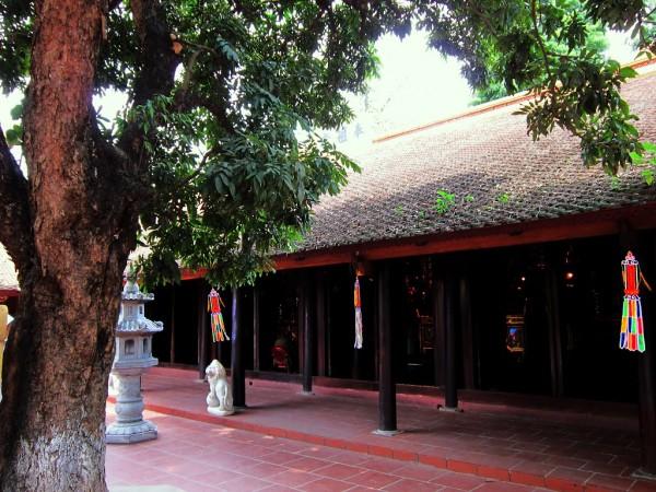 Kiến trúc nội thất đền chùa