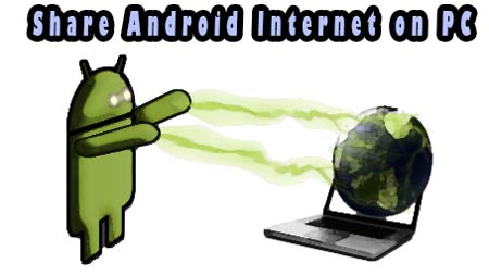 android internet on pc