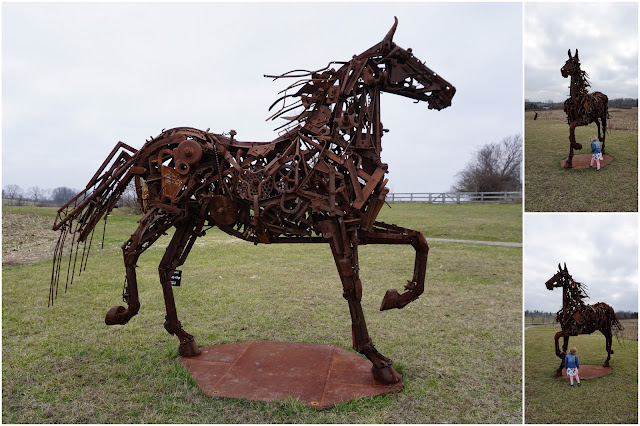 The Horse at Josephine Sculpture Park
