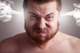 A ira nos deixa fora de controle e nos trás a infelicidade