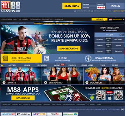 web Cara daftar m88