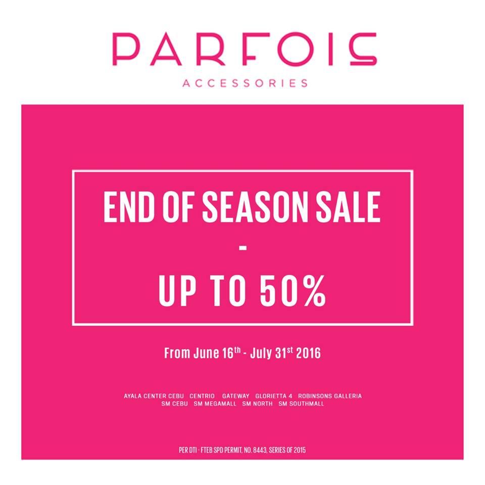 Manila Shopper Parfois Accessories End Of Season SALE