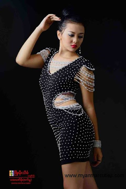 Teenage Popular Actress Shwe Hmone Yati