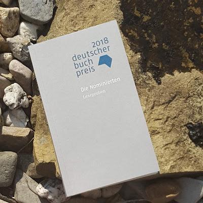 Longlist Deutscher Buchpreis 2018