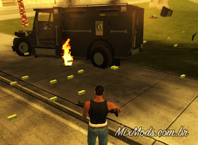 gta san mod securica securicar iv to sa money dinheiro