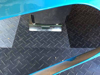 Caterham Aluminium Bonnet (with cut-out) weighs 2.956kg