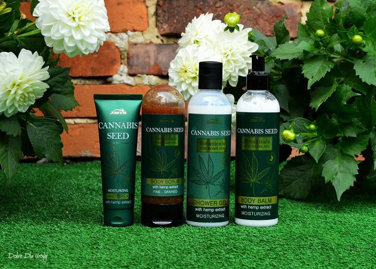 Joanna Botanicals for Home Spa Cannabis Seeds - kosmetyki z Ekstraktem z Konopi  recenzja