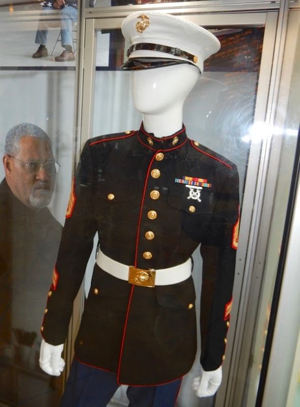 Last Flag Flying US Marine uniform