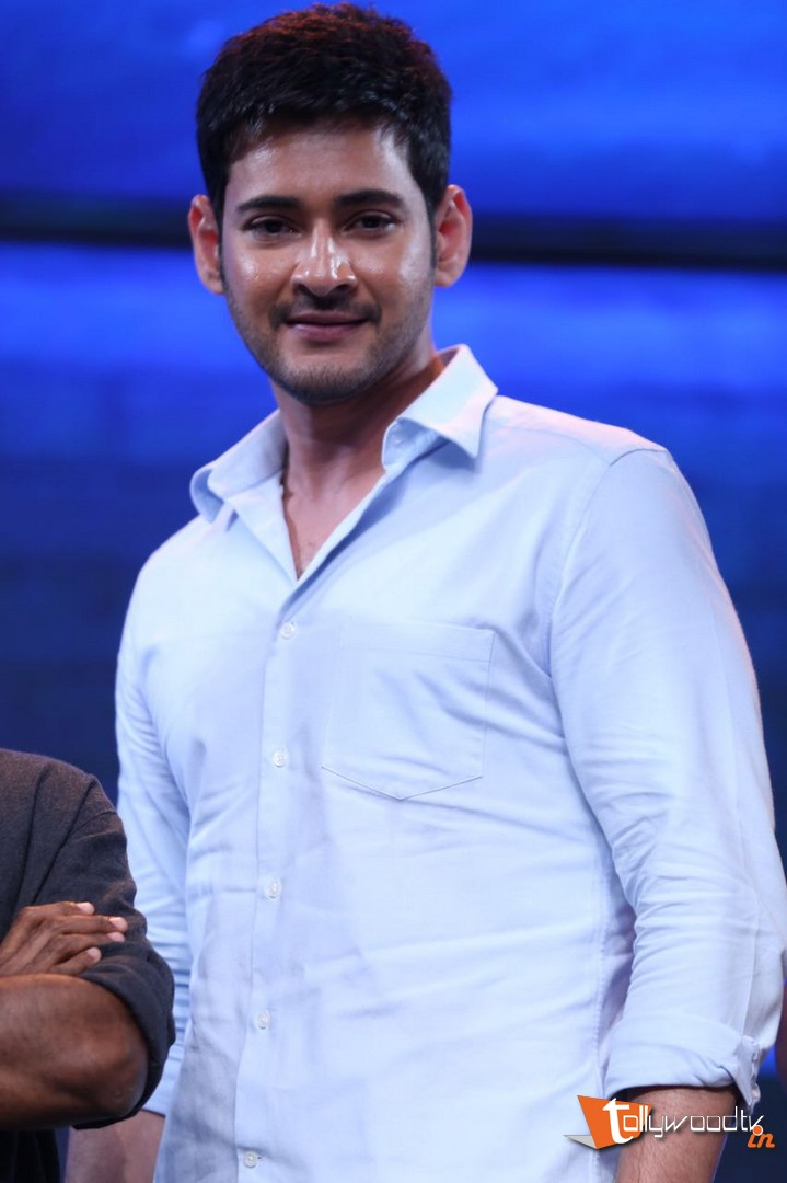 Mahesh Babu At Spyder Audio Launch-HQ-Photo-9