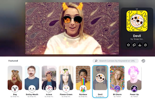 You can now use Snapchat lenses in Twitch, Google Hangouts, and other desktop apps