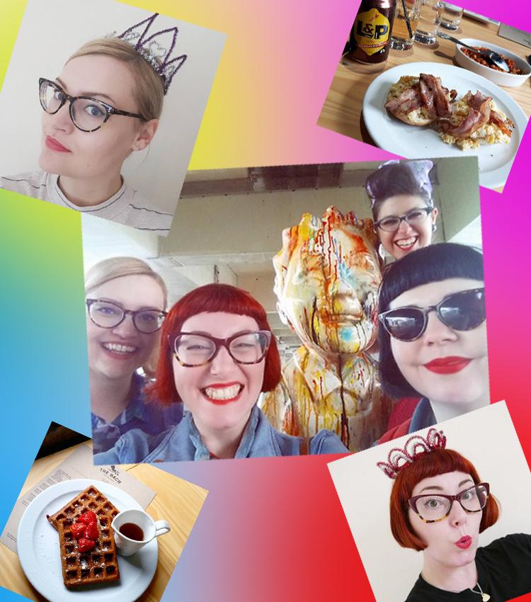 Girl Gang, #girlgangweekender, DIY crowns, oor Wullie, Oor Wullie Bucket Trail, Scottish Bloggers, Brunch, The Bach, The Bach Dundee, Dundee Bloggers, Miss West End Girl, Wardrobe Conversations, Miss Vicky Viola