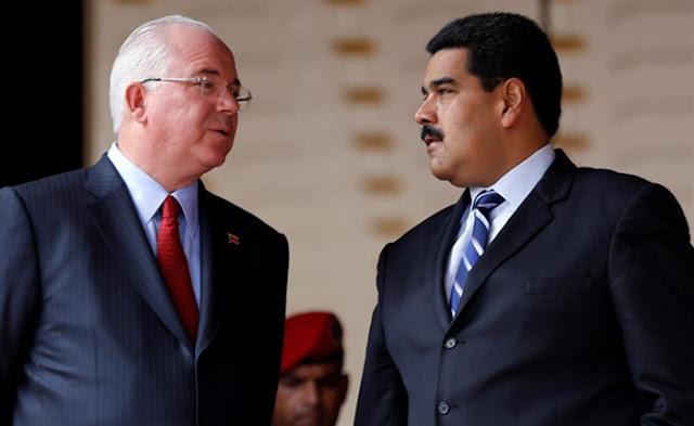 """Rafael Ramírez compara a Maduro con Herodes y lo acusa de estar """"asesinando a la revolución"""""""