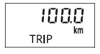 display trip meter