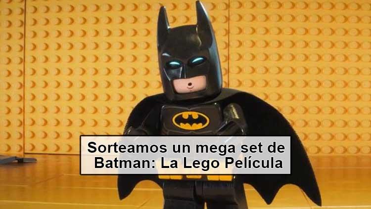 Concurso: Sorteamos un set de Batman: La Lego Película