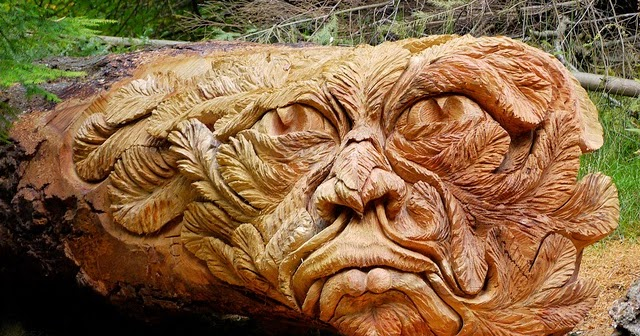 Wood carving unique art that requires high expertise