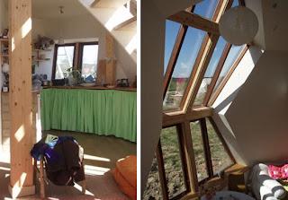 Prefab geodesic dome home