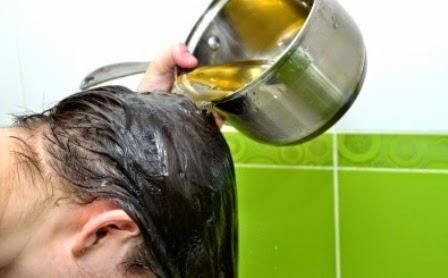Minyak zaitun untuk rambut sehat