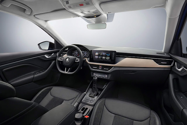 Škoda Scala - interior