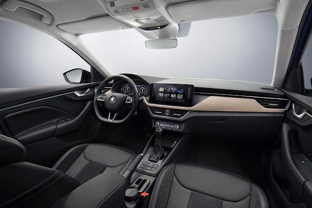 Škoda Scala - interior