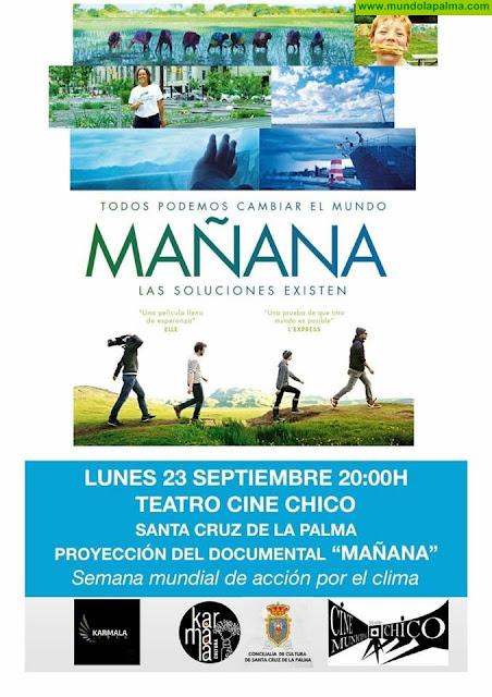 """Proyección del documental """"Mañana"""" en el Teatro Cine Chico"""