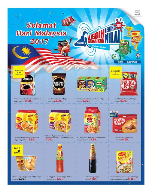 Katalog Tesco Malaysia Day Promotion