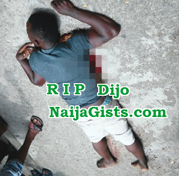 police kill boy festac filling station