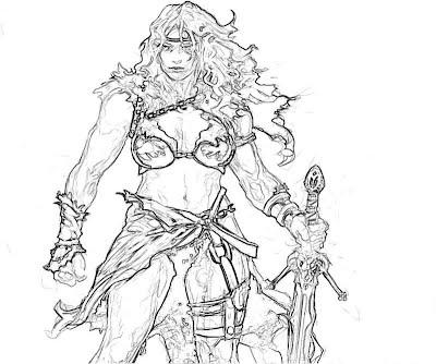 Diablo 3 Barbarian Female 3 Yumiko Fujiwara