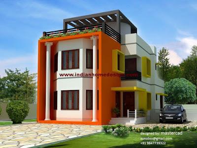 ออกแบบบ้านสีส้ม