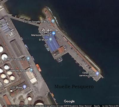 Muelle pesquero - El Musel, Gijón