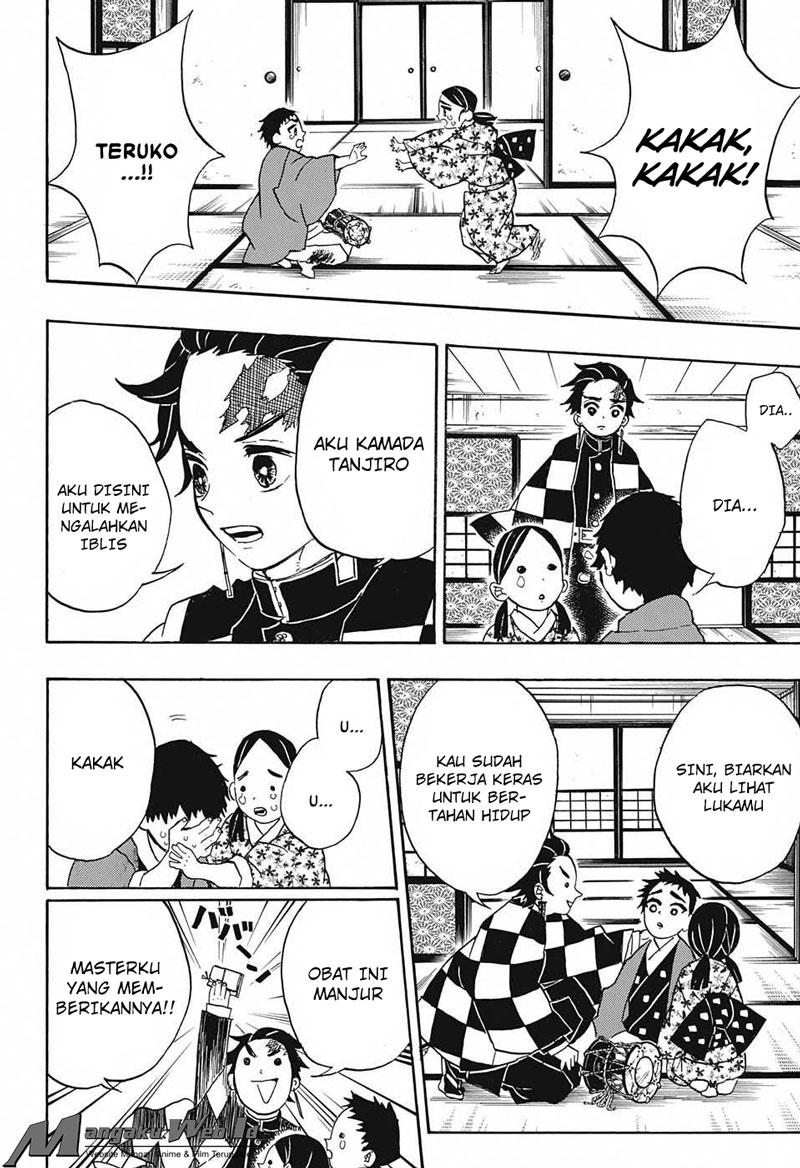Kimetsu no Yaiba Chapter 24 : Ex- Twelve Demon Moon