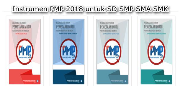Perangkat Instrumen PMP 2018 untuk SD SMP SMA SMK