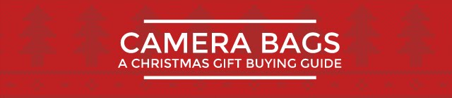 Camera Bag Christmas Gift Guide