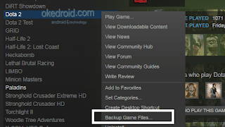 Backup Game Files Dota 2 Steam
