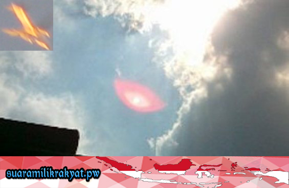 'UFO' di Bandung, Jawa Barat