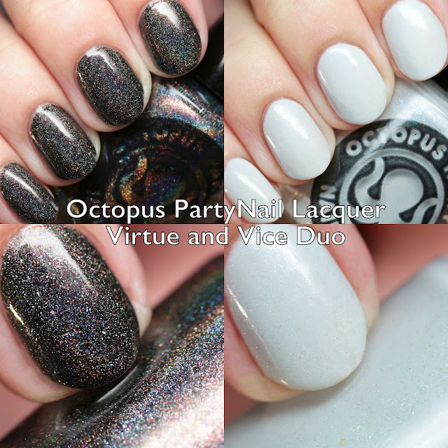 Octopus Party Nail Lacquer Virtue and Vice Duo