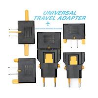 Un adaptateur universel pour brancher ses appareils électriques en voyage.