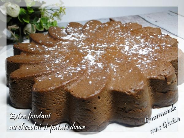 Extra fondant au chocolat et patate douce