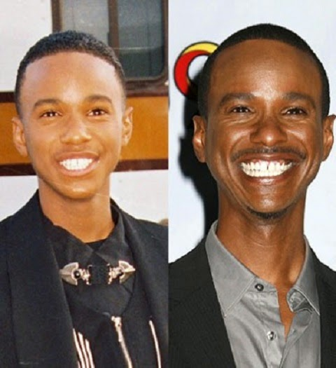 Tevin Campbell, before and after