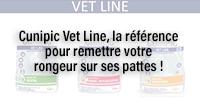 Cunipic Vet Line, la référence pour remettre votre rongeur sur ses pattes !
