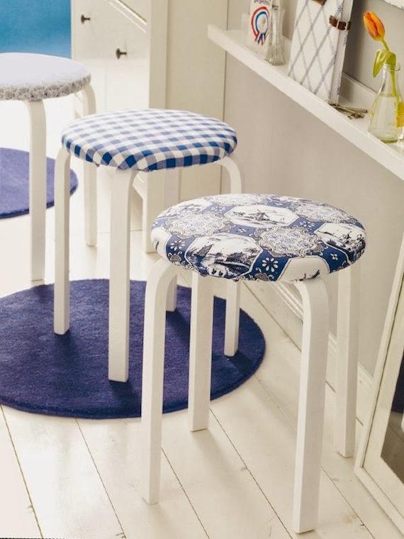 IKEA Hacks taburete Frosta
