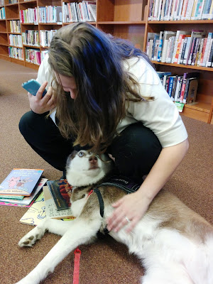 I chose to do Therapy Dog volunteer work with Bideawee because I got my first childhood dog from them