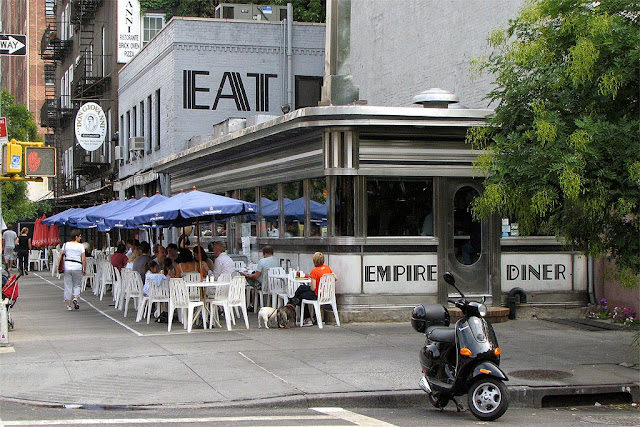 Empire Diner, Tenth Avenue, Chelsea, New York