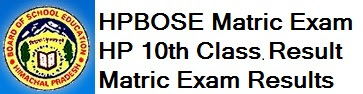 HPBOSE 10th Results 2017
