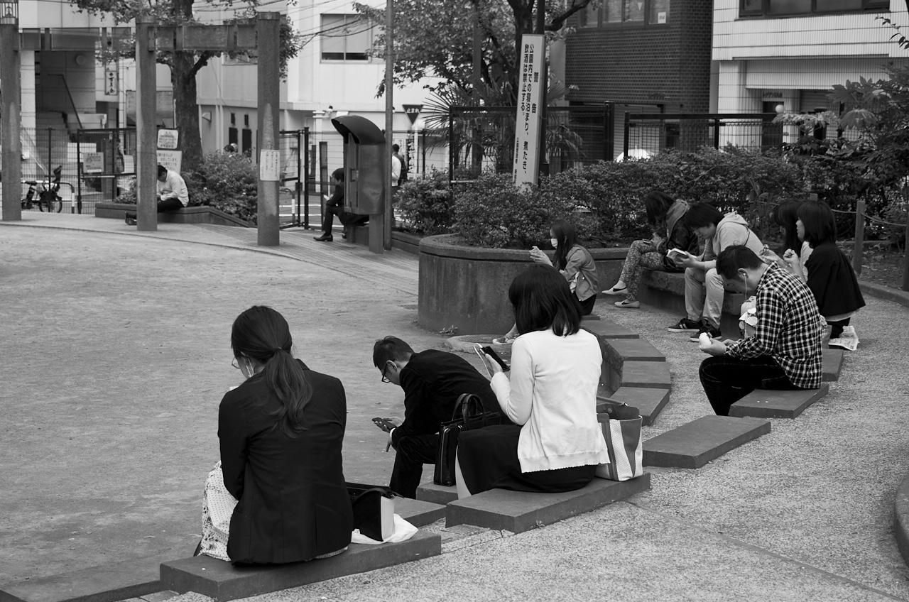 Shinjuku Mad - Crowd fondling 15