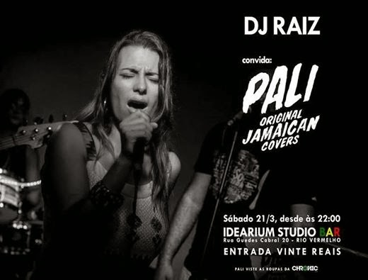 Pali OJC e Dj Raiz no Idearium Studio Bar
