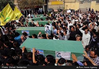 Iran Kembali Bawa Pulang 4 Mayat Tentara Syiah dari Suriah