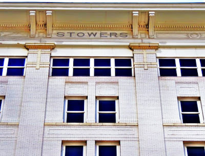 STOWERS name signage below the eves