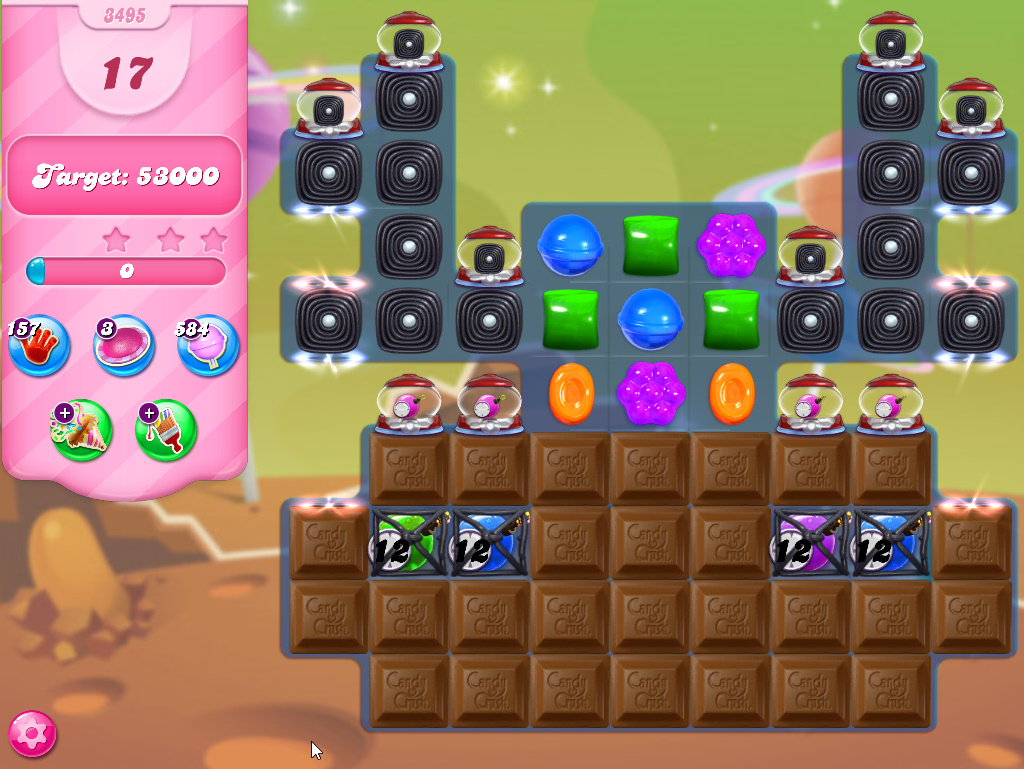 Candy Crush Saga level 3495